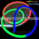 low price neon rope digital chasing lighting plastic for building tube toy for kids ip68