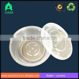 300ml Disposable Small Plastic Container with Lid and food Industrial Use disposable microwave food containers