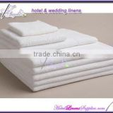 wholesale white cotton hotel towel sets, spa towel sets for hotels, spas, super water absorption