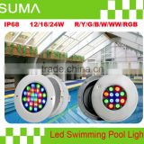 High Quality rgb par56 led swimming pool light IP68 Made in China                                                                         Quality Choice