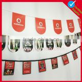 celebration party custom size outdoor pennant flags