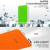 15mm Ultra-Thin 7500mAh Jump Starter power bank For 12V Petrol Car solar power bank 7500mah