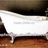 Classical Cast iron Enamel Clawfoot Bathtub