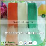 Good quality sheer organza ribbons 84 colors in stock                                                                         Quality Choice