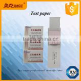 Red litmus paper testing tool strips for chemical laboratory