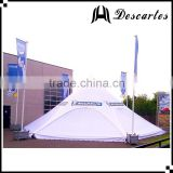 Commercial star shaped marquee tents/16m custom star canopy with panels