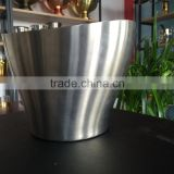 China manufacturer supply metal ice bucket,silver champagne ice bucket