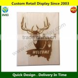 "Wood Welcome sign Laser engraved Customize one today Perfect for gifts 8x10"" YM3-199"