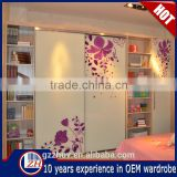Home bedroom furniture wooden wardrobe designs modern cabinet closet kids wardrobe for sale
