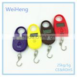 Electronic portable pocket travel luggage scale in stock