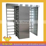 Barcode access control full height turnstile/ RFID access control full height turnstile gate