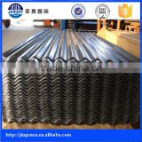 Prepainted 1mm thick 16 22 24 26 gauge corrugated galvanized steel sheet price in india