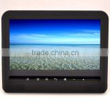 9 inch headrest car dvd player with super slim case wireless games and support dvd vcd cd sd usb