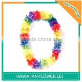 Promotional Party Polyester Artificial Flower Hawaiian Lei