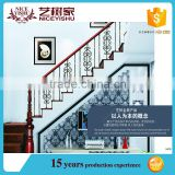 Used wrought iron stair railing, baluster design, terrace balustrade on alibaba.com hot sale