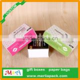 Handmade Mulberry Paper Soap Box Natural Bar Soap Scent Jasmine Glycerin 105 g Luffa Box