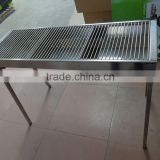 Restaurant Rotating Commercial stainless steel Charcoal BBQ grill
