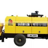 China famous motor engine truck mounted used concrete pump