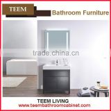 MDF bathroom vanity Stainless Steel Bathroom Vanity Wall Hung Sink Bathroom Vanity floor stand bathroom cabinet