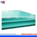 printed and anyi-uv plastic pp protective sheet