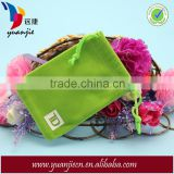 Wholesale Promotional Green Comestic Velvet Bags for Gift