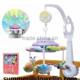 baby rattle toys.2014 new born baby gift set.with light and music