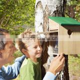KD Nest Box Detachable SPY Bird House Eco-friendly Wooden Bird Observer New Unfinished Wooden Bird House Wholesale observe birds