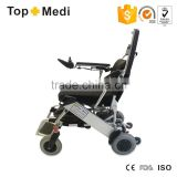 Lightweight Folding Electric Power Wheelchair for Disabled People/Silla de ruedas electrica