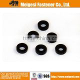 Supply fastener with good quality and price plastic flat type black or colored golf ball washer sale well