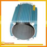 WOW! anodized indusrial aluminium extrusion profile cooling fin tube / aluminum heat sink hollow