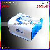 High Focused Ultrasonic Bags Under The Eyes Removal Professional Hifu No Pain Machine Back Tightening / Portable Hifu / Hifu Korea High Frequency Machine Facial Deep Wrinkle Removal