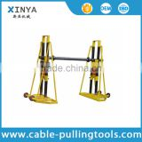 Cable Handling Equipment 10 Ton Hydraulic Cable Drum Stand