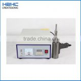 hot sale ultrasonic plastic shoe welding making machine