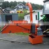 new design top quality good price tractor PTO drived wood chipper DC20 EU20 with CE TUV GS certification