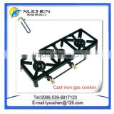 Gas cooker supplier Portable cast iron gas stove with best price and quality