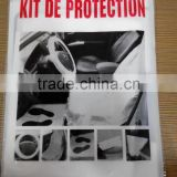 disposable plastic car seat cover for interior pratectice