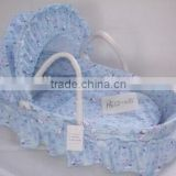 handmade baby bassinet basket baby moses basket stand with liner and mattress