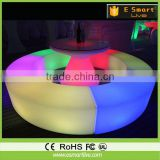 color change led bar furniture/colorful led table and chair