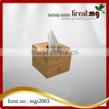 Bamboo Tissue Box Cover by Trademark Innovations Bamboo Napkin Holder Tissue Box Cover Restaurants Coffee Hotels Office