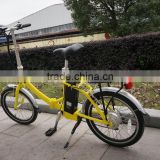 CE mini size foldable electric bike folding e-bike with Bafang motor for girl