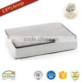 Orthopedic memory foam dog bedding