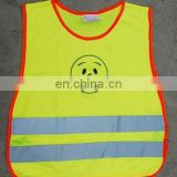 Kids high reflective mesh cute safety vests