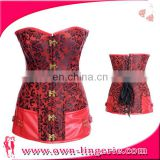 Various type spots corset dress