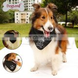 Hot Sale Fashion Dog Bandana Rhinstones Paw/ Bone /Skull Pet Dog Scarf Wholesale Dog Bandana