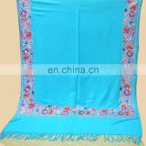 Pashminas shwals with Embroidered scarf