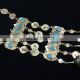 (KN-3014) Afghan turkman vintage necklace