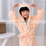 wholesale 100% cotton bathrobe for kid and children