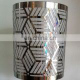 Customized wholesale led light metal round lampshade for christmas decoration