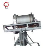 Rising Sun plastic water tank rock n roll rotomolding machine for Sales