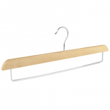 Angie hot selling wooden pants hangers